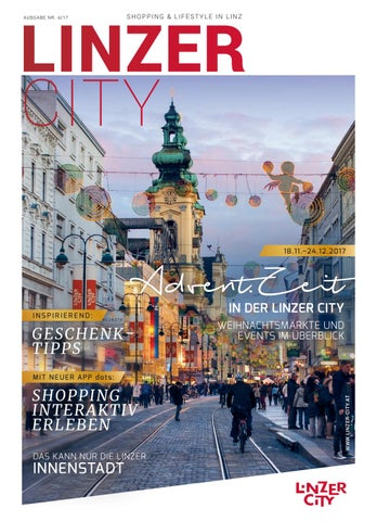 Linzer City Journal Ausgabe 4 2017 By Linzer City Ring Issuu