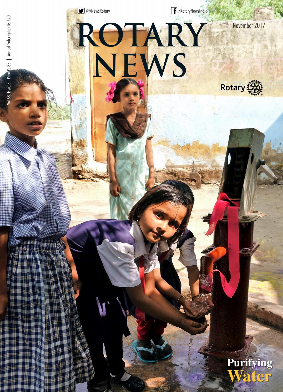 Rotary news november 2017 by Rotary News - issuu