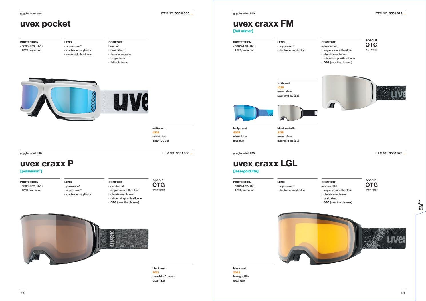 Catalog Uvex Gogle Kaski 2018 by snowsport snowsport - issuu c67dd65e0d