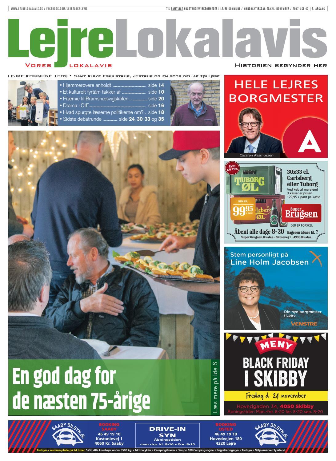 964704d98fc9 Lejre lokalavis uge 47 2017 by Lejre Lokalavis - issuu