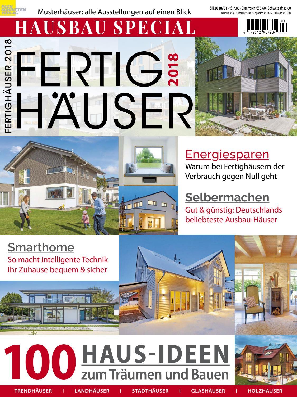 Lieblich Fertighäuser 2018 By Fachschriften Verlag   Issuu
