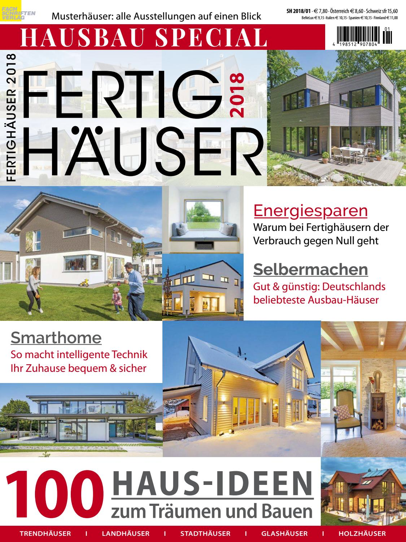 Fertighäuser 2018 by Fachschriften Verlag - issuu