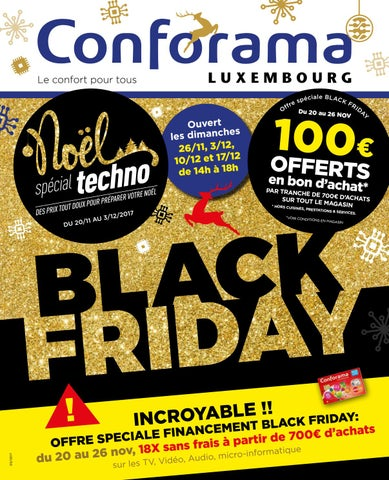 Doc 05 Black Friday By Conforama Luxembourg Issuu