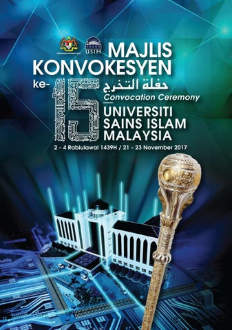 Majlis Konvokesyen Ke 15 Usim By Usim Official Issuu