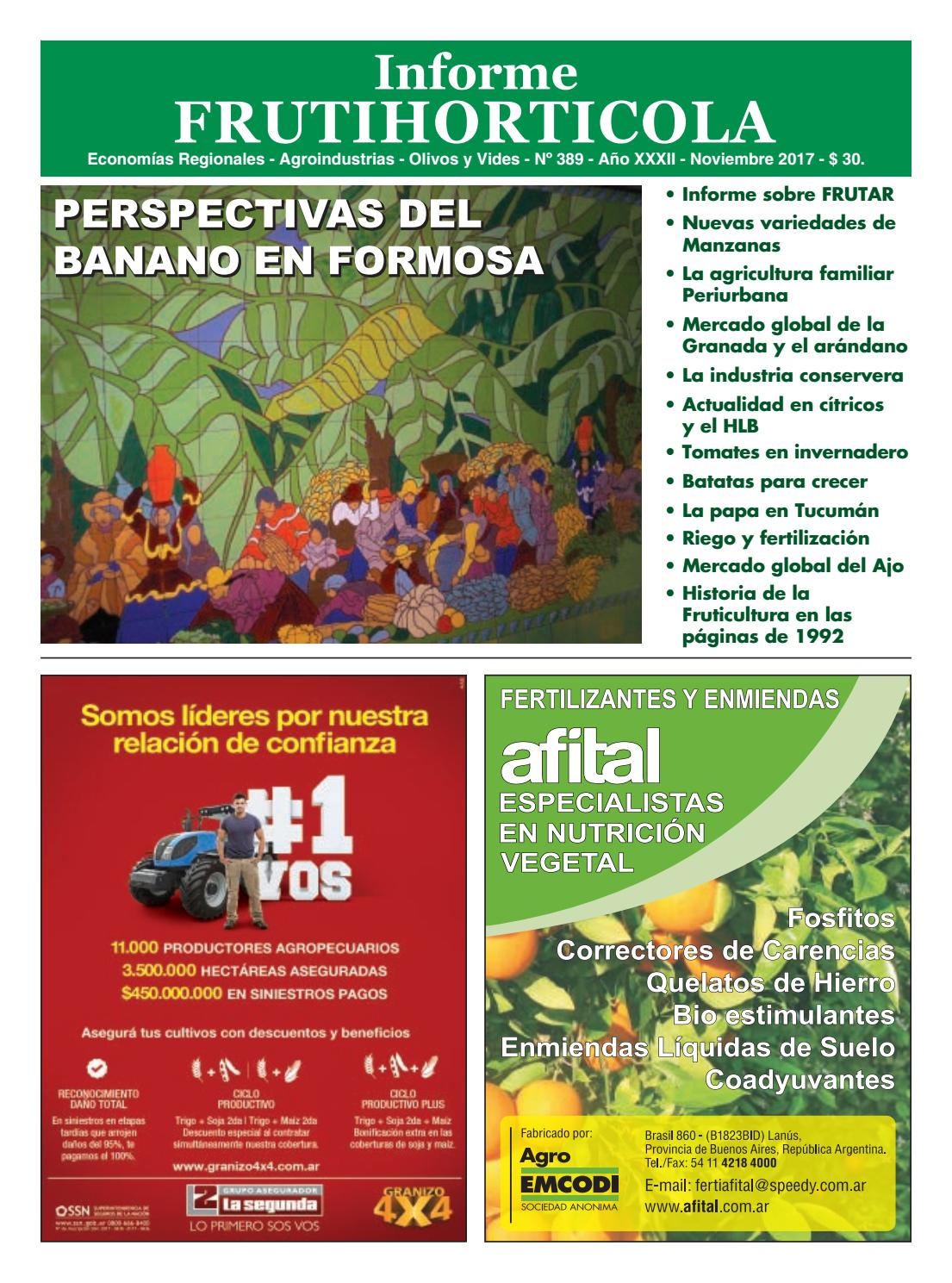 Informe noviembre 2017 by Horticultura & Poscosecha - issuu