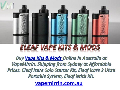 Eleaf Vape Kits and Mods - Vapemirrin Sydney Australia by alex