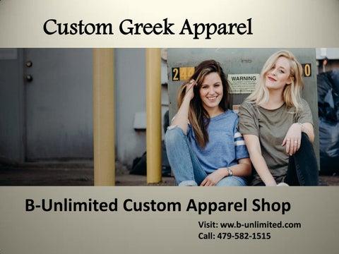 ad2edc69 Greek Shirts ideas | Best Sorority Shirts Company by B-Unlimited - issuu