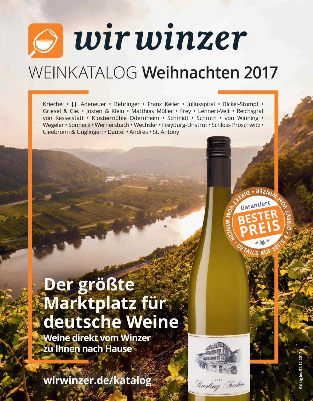WirWinzer Weinkatalog by WirWinzer - issuu