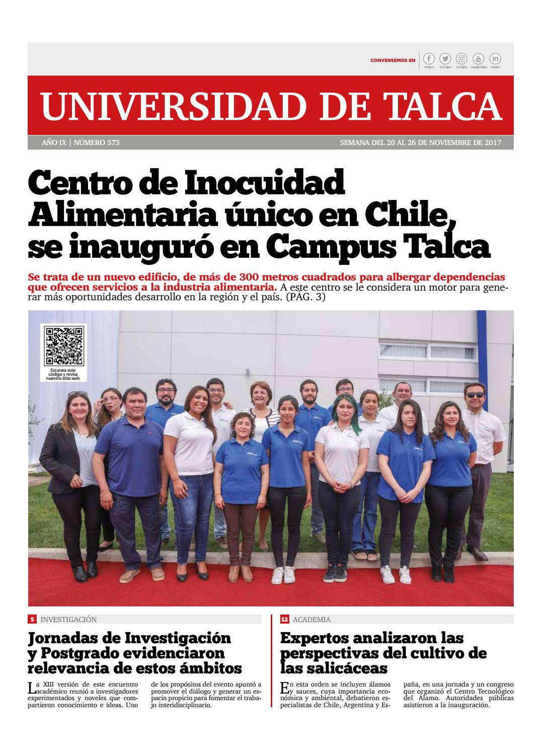 Semanario Digital by Universidad de Talca Chile - issuu