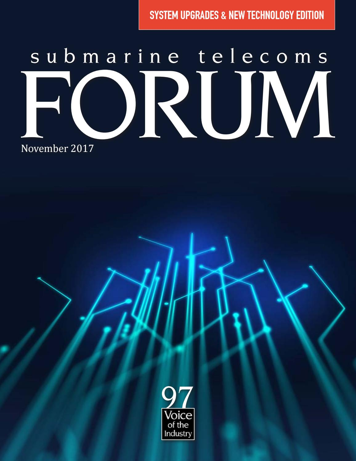 Subtel Forum Issue 97 By Submarine Telelecoms Issuu Russell39s Random Thoughts Passive Tone Control For Vacuum Tube Amps