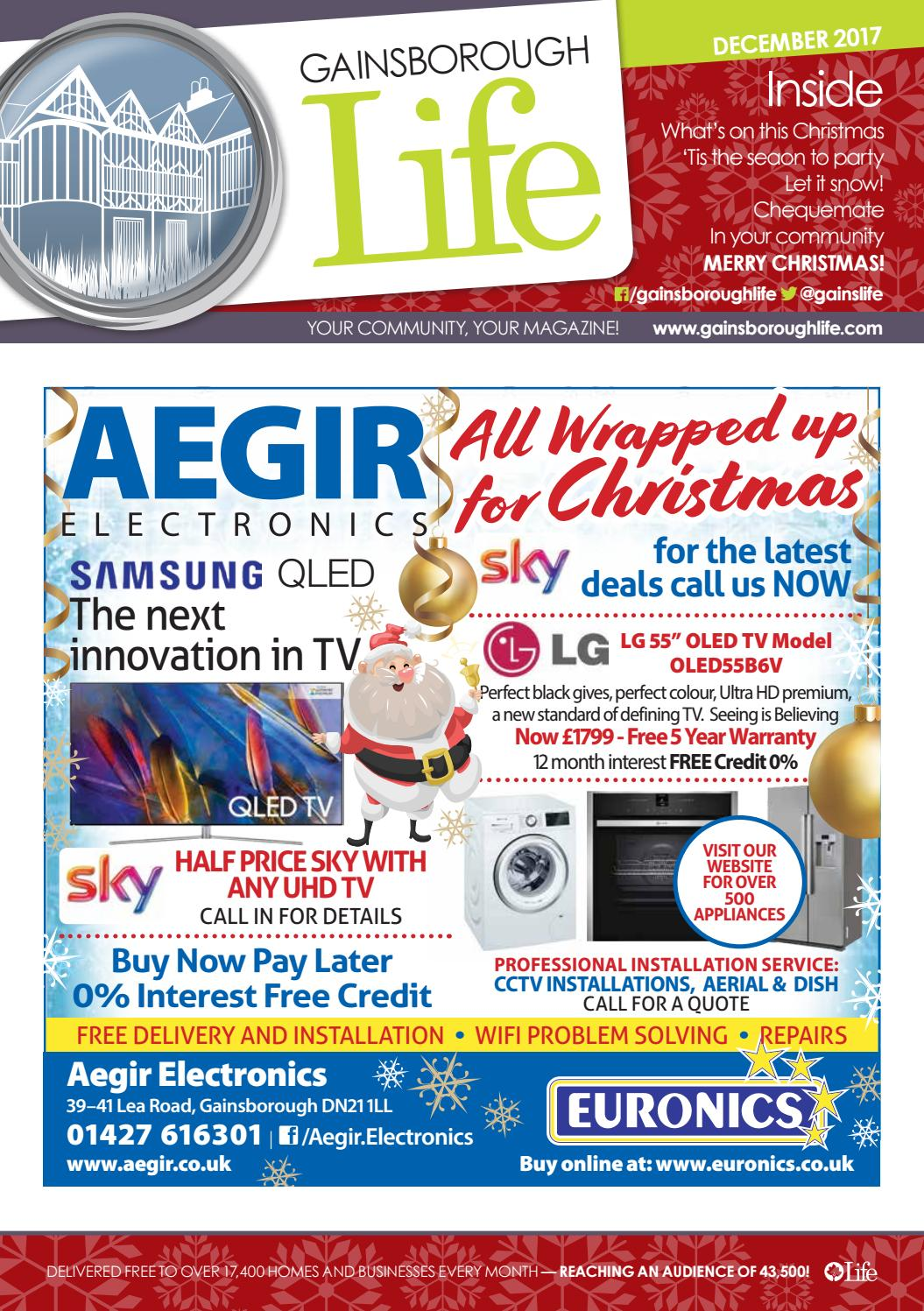 3e443b87474471 Gainsborough Life Magazine December 2017 by Life Publications - issuu