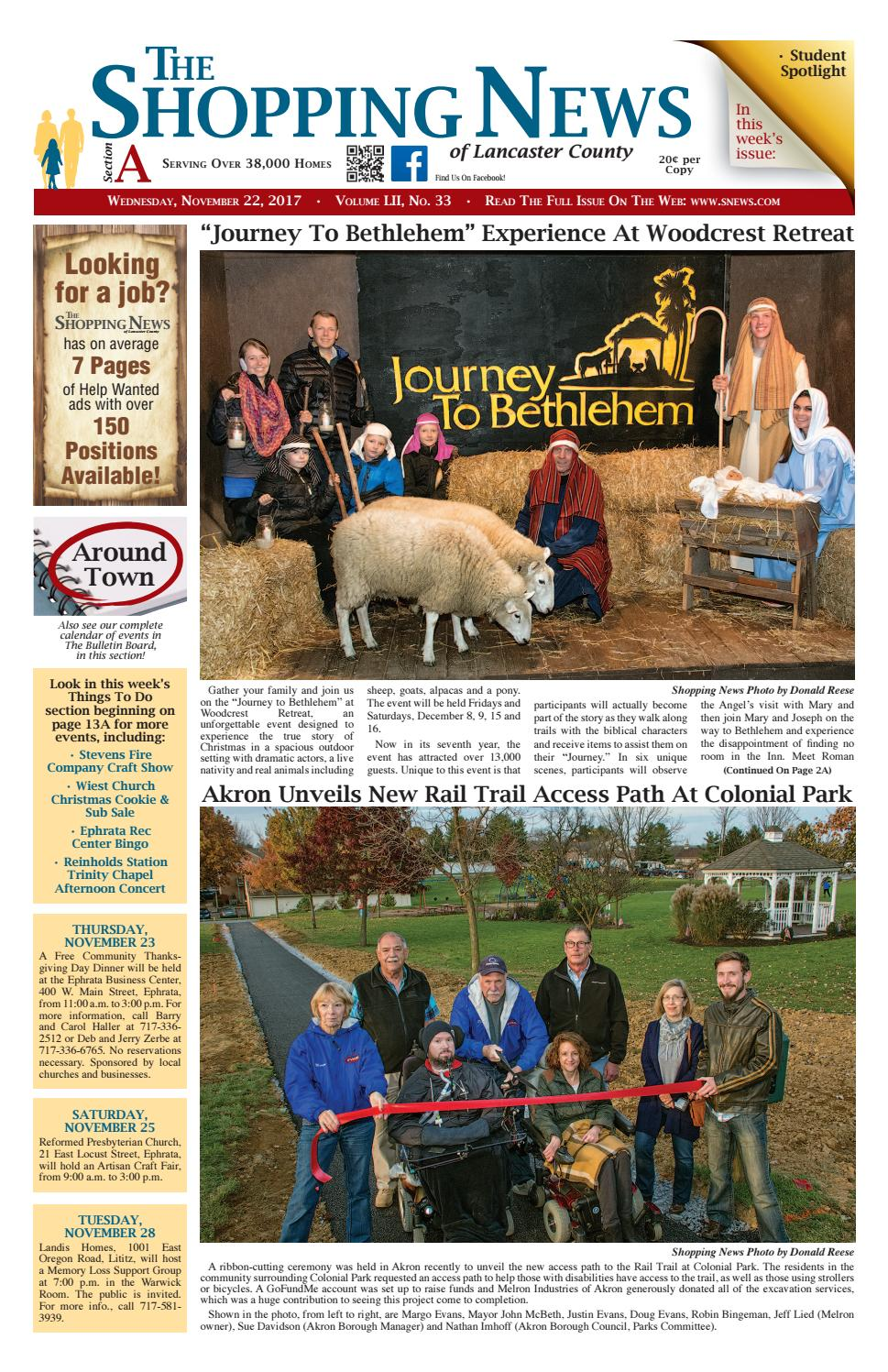 11.22.17 issue by Shopping News - issuu