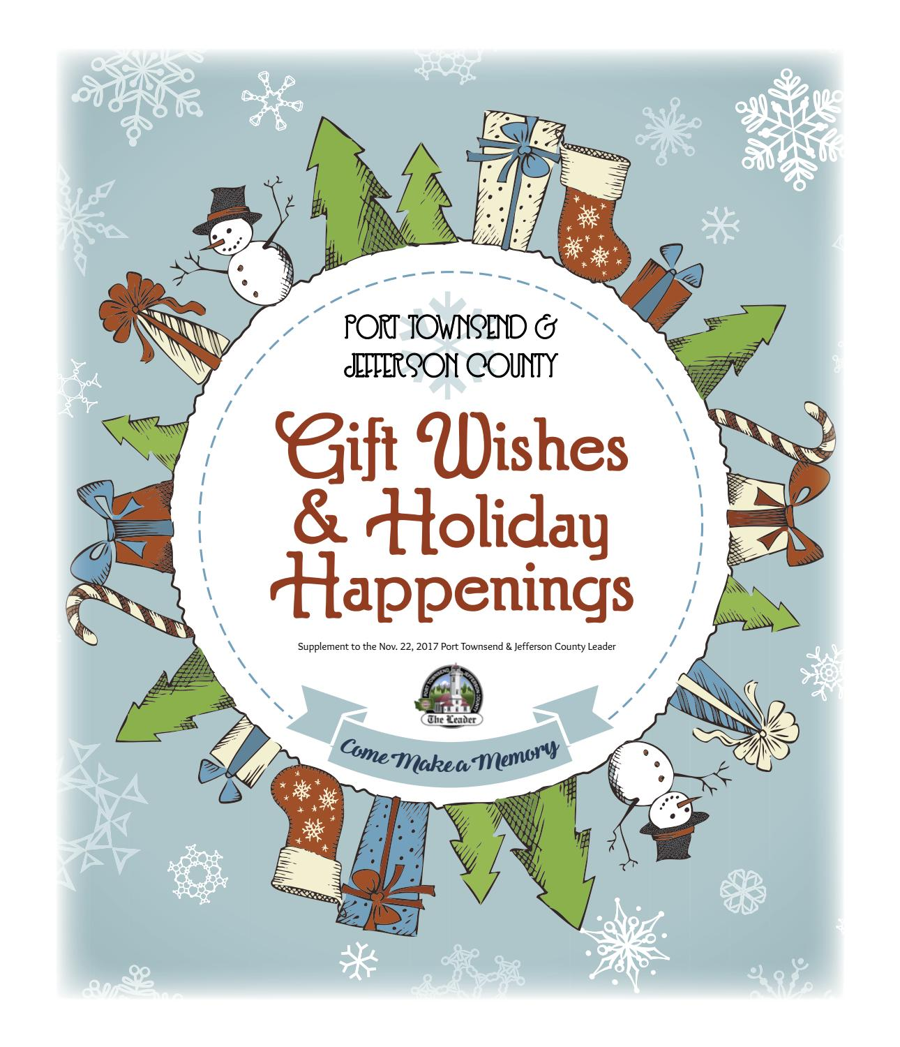 2017giftguidepages green edition by Port Townsend Leader - issuu