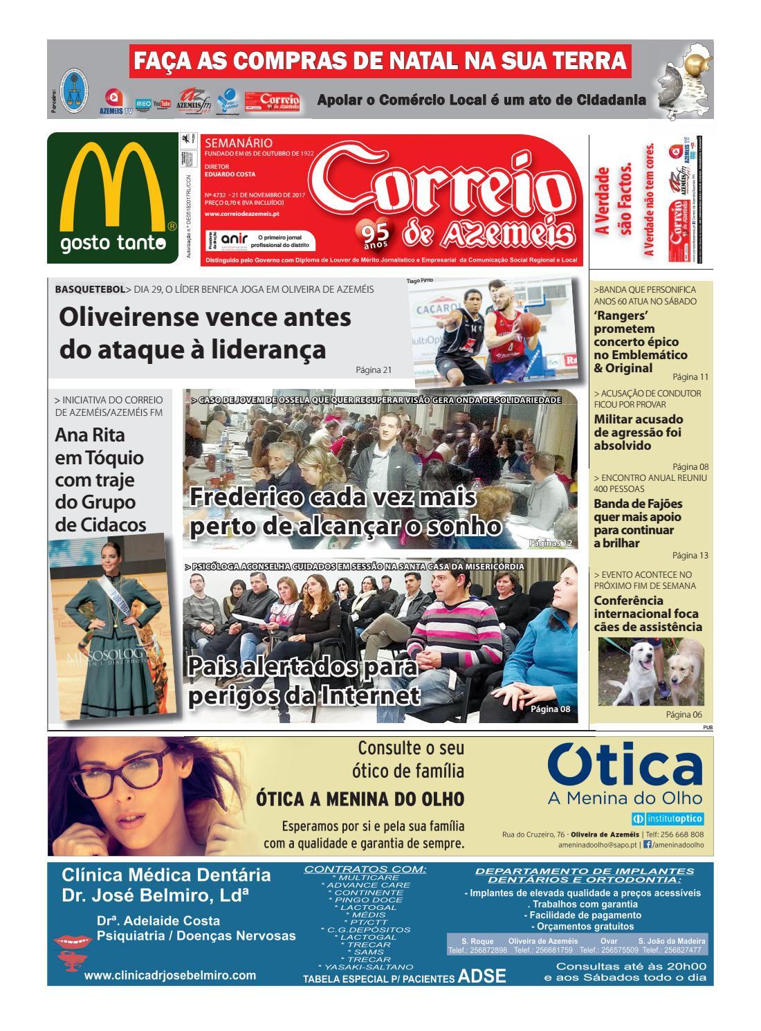 21 11 2017 by Correio de Azeméis - issuu c505ed420dba7