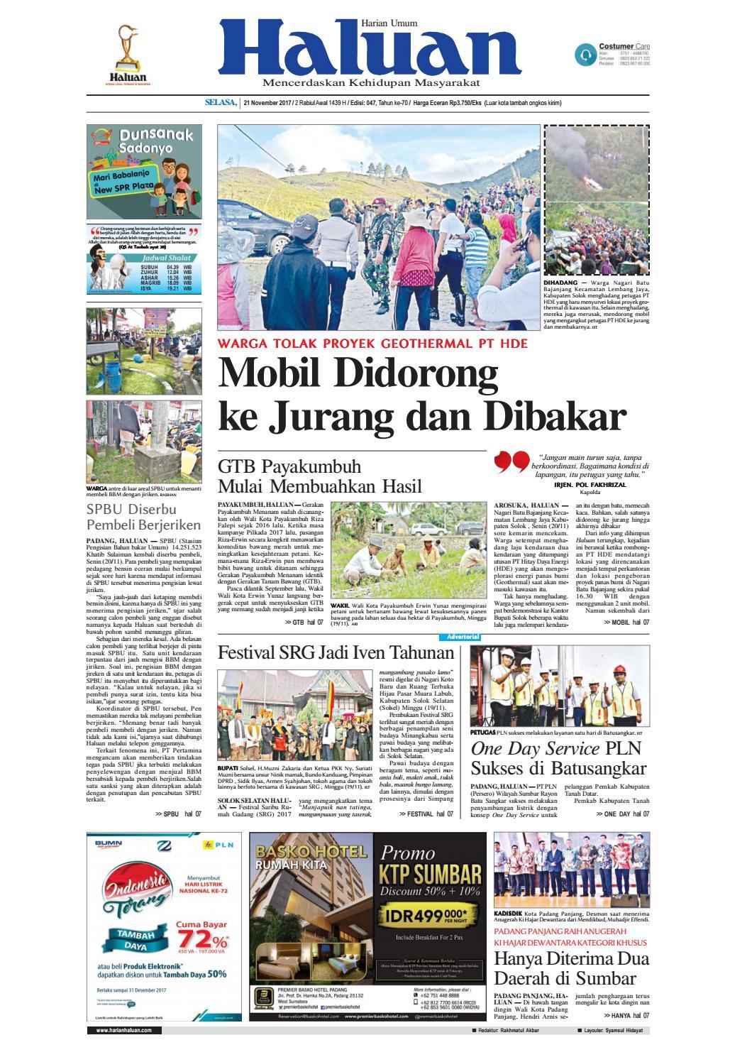 Haluan 21 November 2017 By Harian Issuu Produk Ukm Bumn Songket Durian