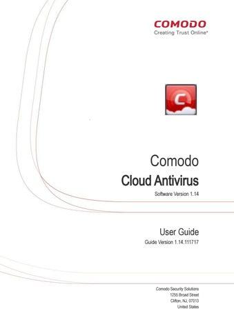 Comodo cloud antivirus user guide by Baskaran G - issuu