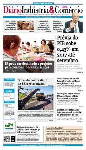 Diário Indústria Comércio - 21 de novembro de 2017 by Diário ... 2e9cf16e449cb
