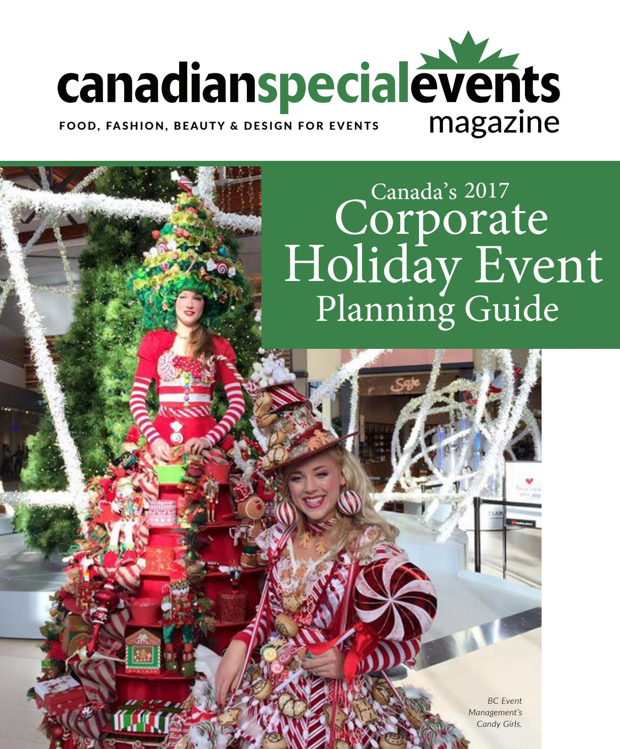 265ccb5cb176 Canadian Special Events Corporate Holiday Planning Guide by Canadian ...