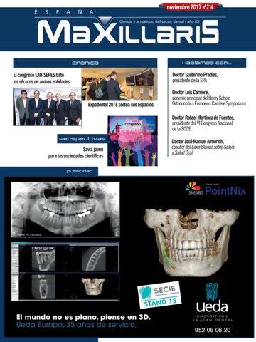 Revista dental MAXILLARIS noviembre 2017 by CYAN EDITORES 069b4a332af