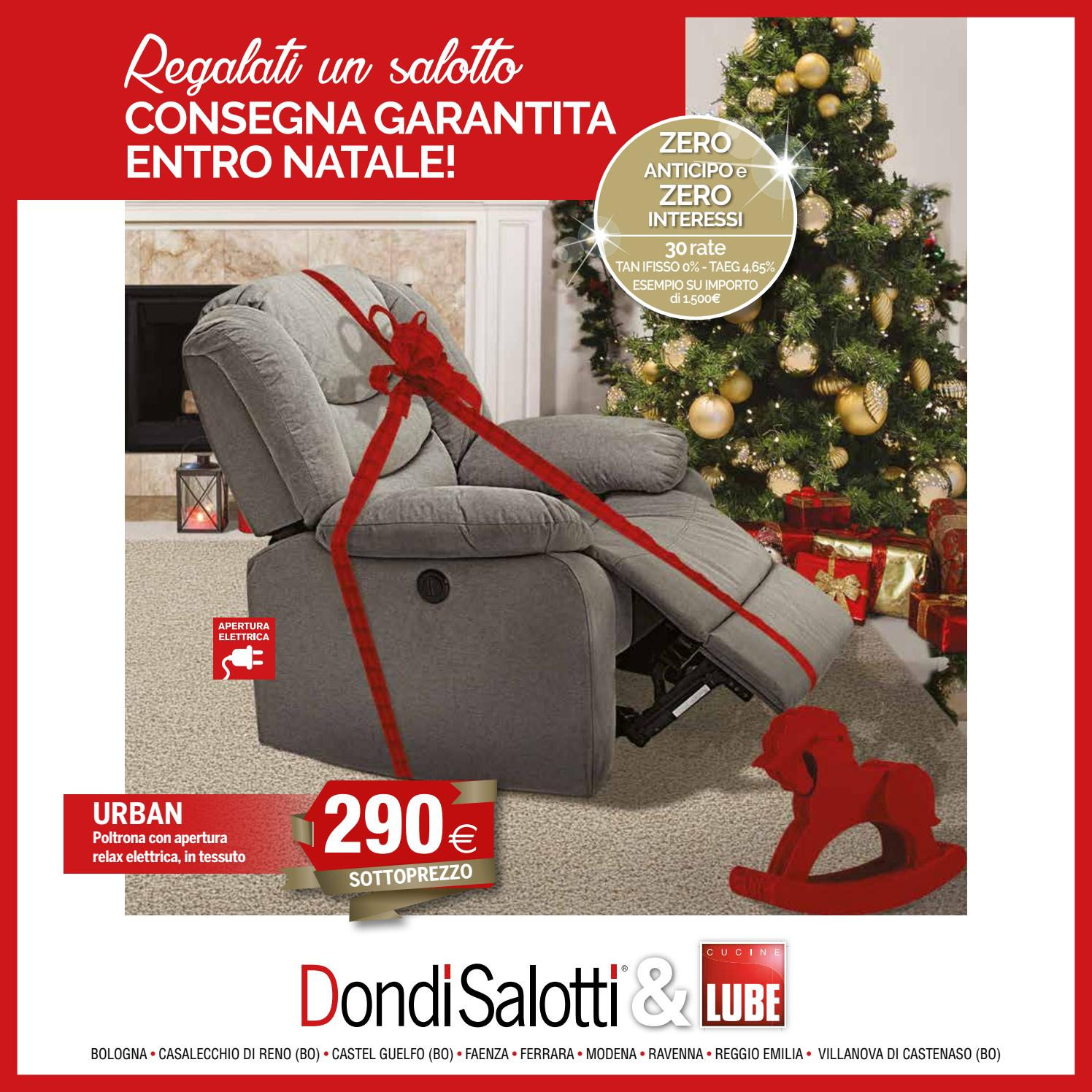 Dondi Salotti Modena Catalogo.Dondi Salotti Natale 2017 By Michele Travagli Issuu