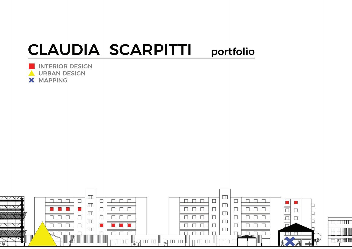Portfolio Claudia Scarpitti Architetto By Claudia Scarpitti