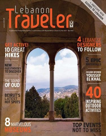 Lebanon Traveler - Fall/Winter 2017-2018 (issue 23) by Hospitality