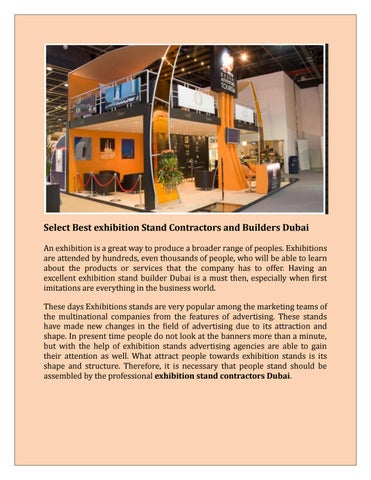 Pko Exhibition Stand Designers And Builders : Choosing an exhibition stand contractor to manage your exhibition
