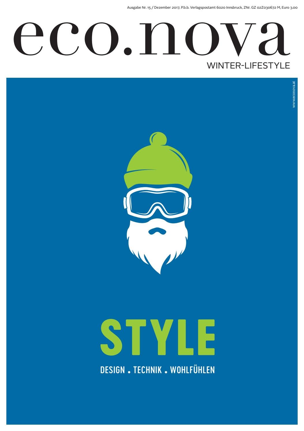 Eco.nova SPEZIAL Winter Lifestyle 2017 By Eco.nova Verlags Gmbh   Issuu