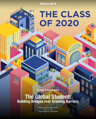 Mpc Spring Break 2020.The Class Of 2020 Annual Trend Report 2018 By The Class Of