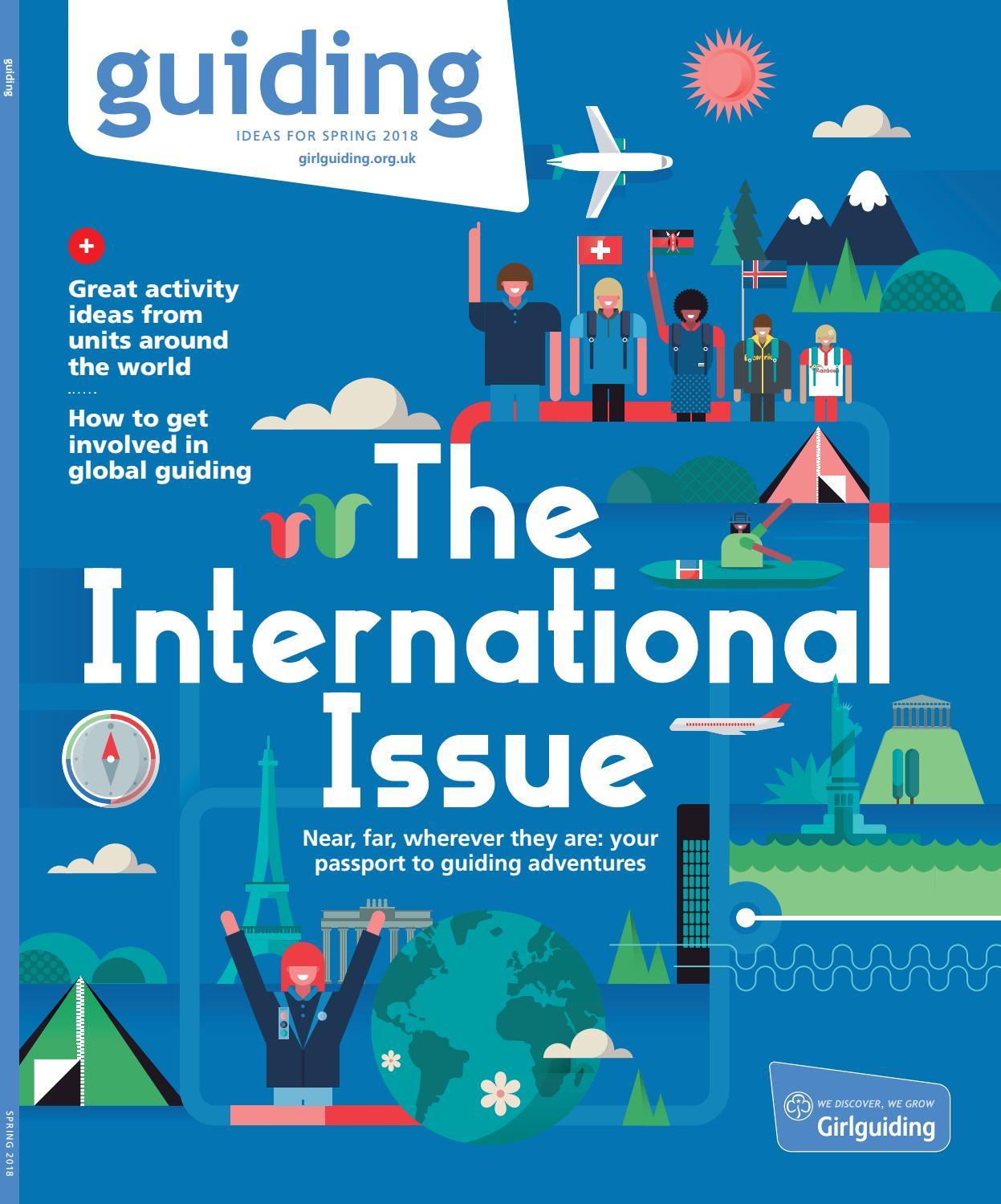 guiding magazine - the international issue by Girlguiding