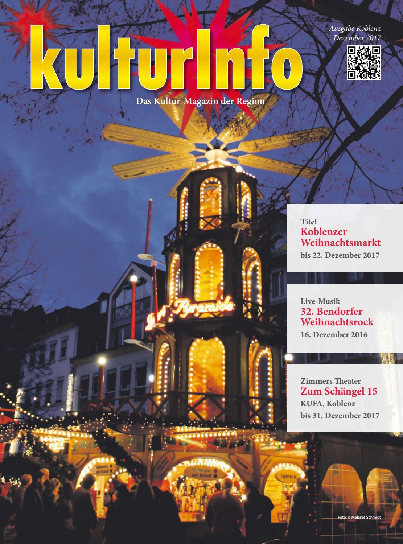 KulturInfo Dezember 2017 by Kulturverlag Günther Schmitz - issuu