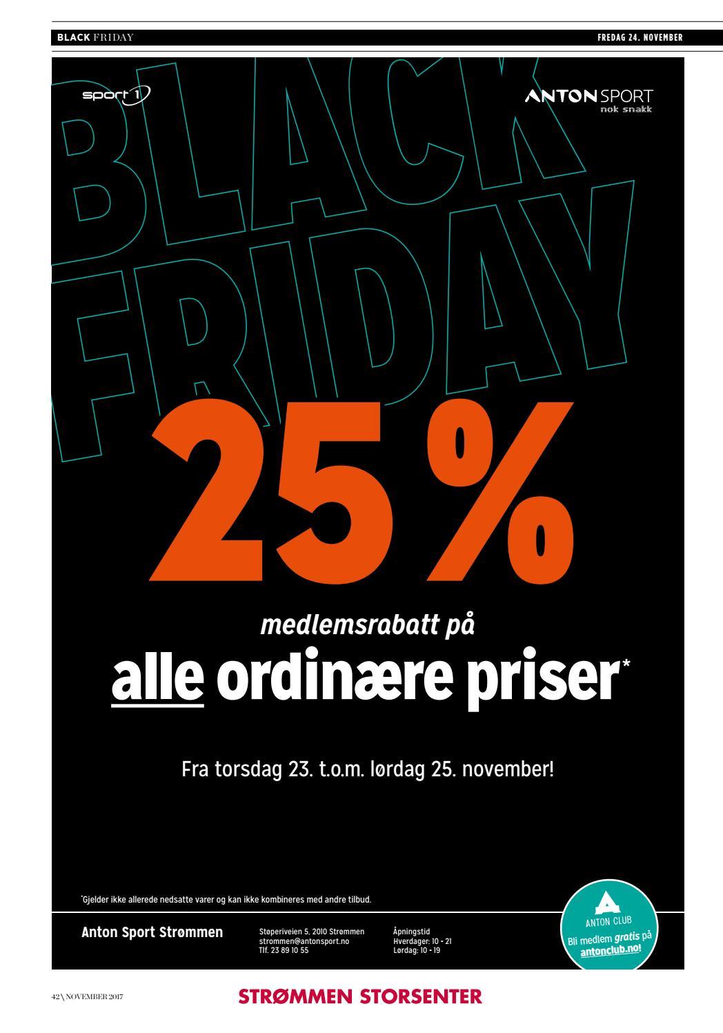 a84c9c772 Black friday by Strømmen Storsenter - issuu