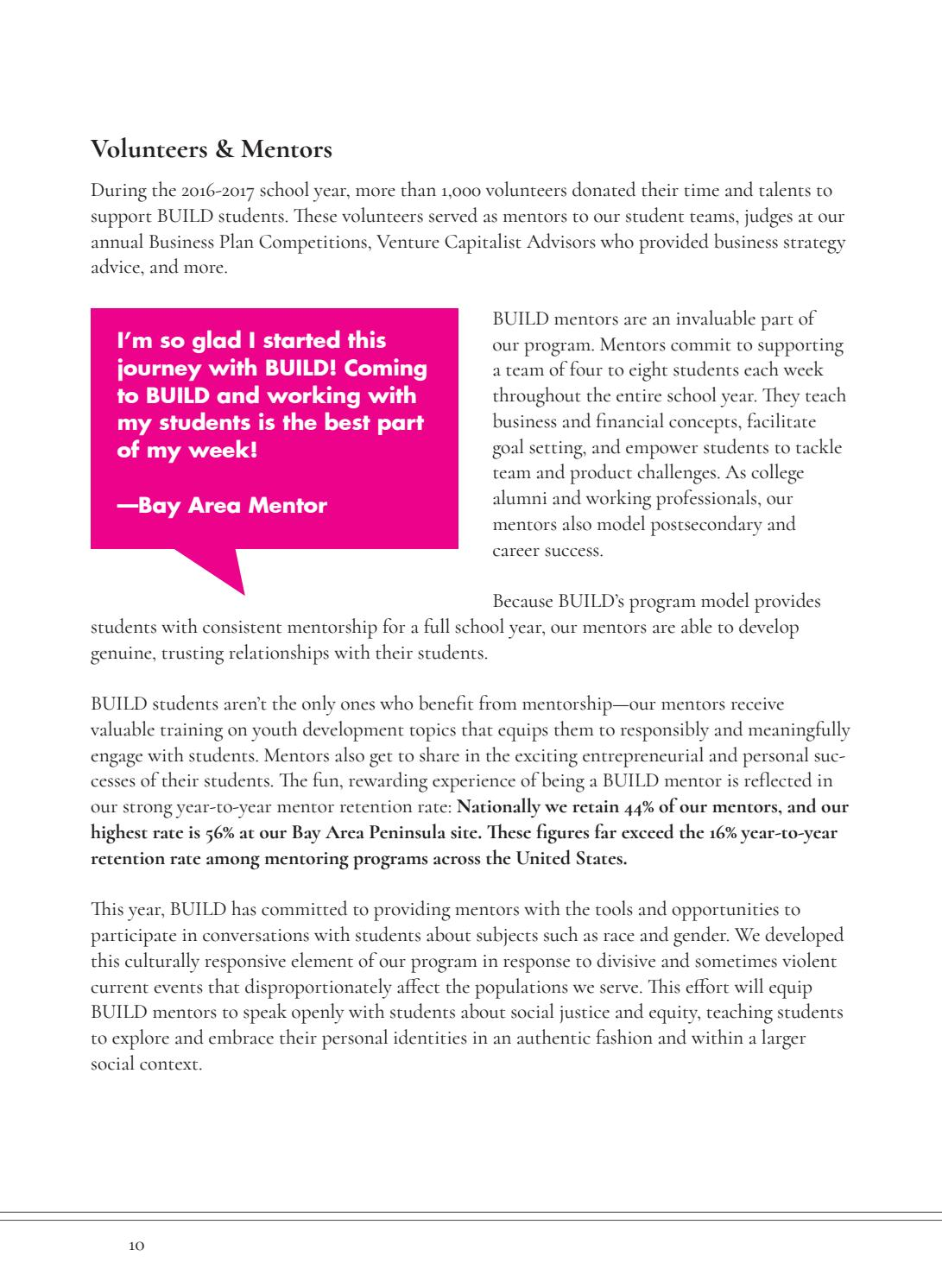 BUILD org Annual Report 2016-2017 by BUILD org - issuu