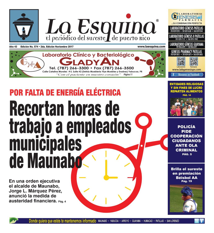 Edición 574 - Periódico La Esquina by Héctor Rosa - issuu