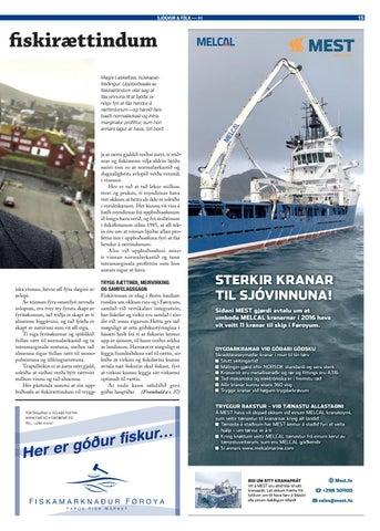 Page 15 of Álvarsligir vansar við uppboðssølu av fiskirættindum