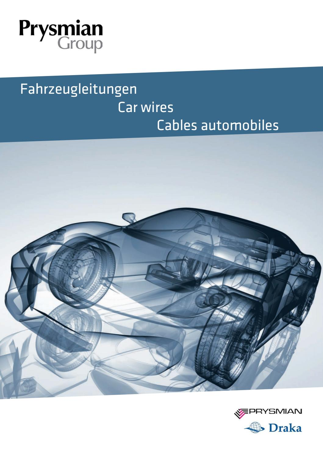 Automotive Cables by Prysmian CEE - issuu