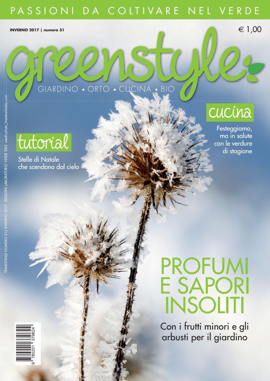 Troppe Mosche In Giardino greenstyle inverno 2017 by edizioni laboratorio verde - issuu