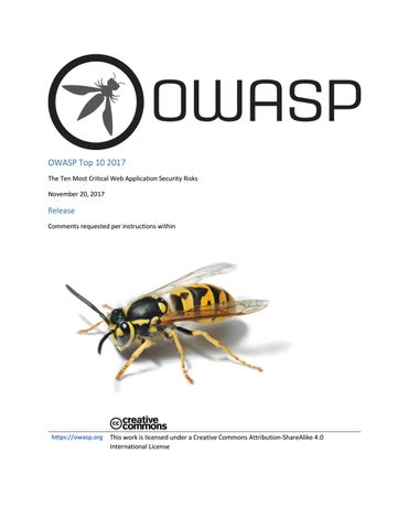 OWASP Top 10 2017 versión FINAL by DragoN JAR - issuu