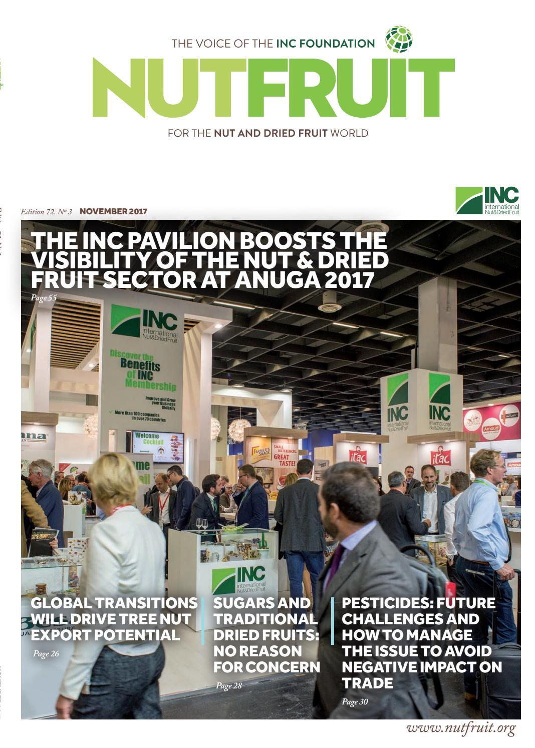 Nutfruit Magazine November 2017 By Inc International Nut Dried Diamond Plain Fresh Milk 949 Ml Fruit Council Issuu