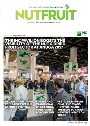 Nutfruit magazine november 2017 by inc international nut dried page 1 fandeluxe Images