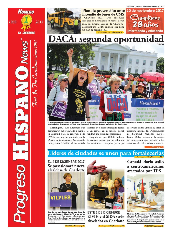 Progreso hispano news charlotte nc ed#24 11212017 by Progreso ...