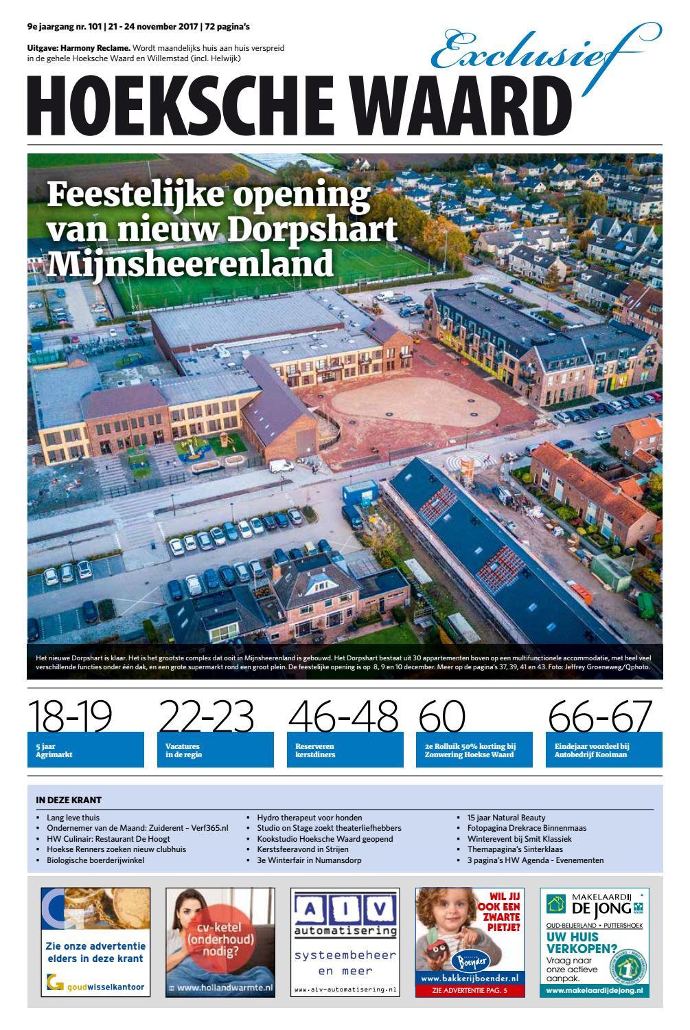 8d885bbda79 Hoeksche Waard Exclusief - 21 november 2017 by Hoeksche Waard Exclusief -  issuu