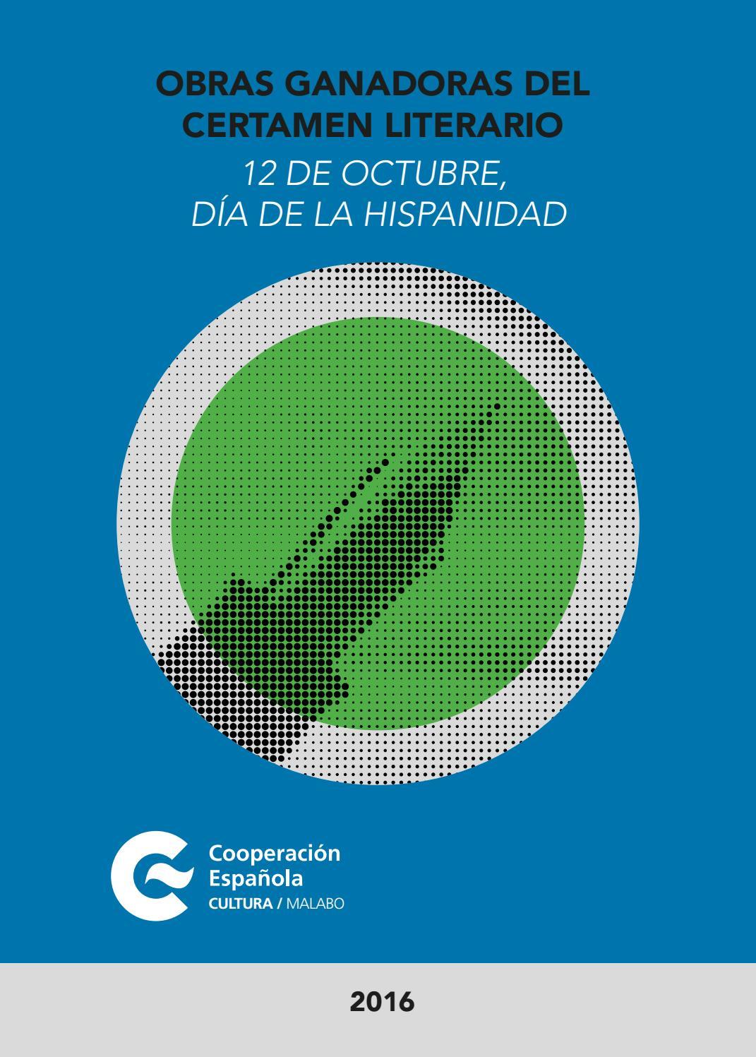 Certamen literario 2016 by Centro Cultural de España en Malabo - issuu