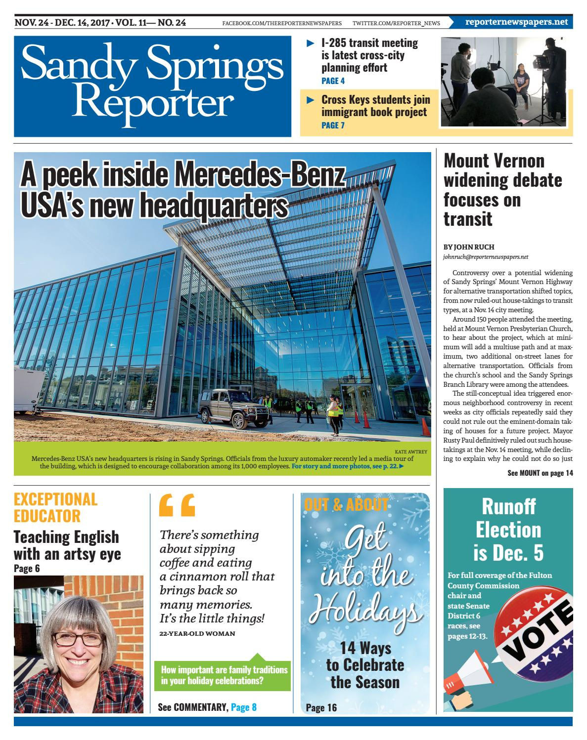 dcb6c393cda 11-24-17 Sandy Springs Reporter by Reporter Newspapers - issuu