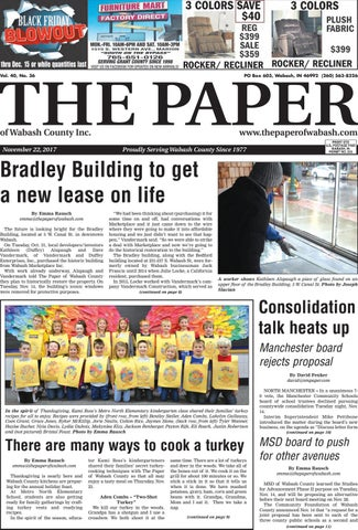 The Paper Of Wabash County Nov 22 2017 Issue By The Paper Of