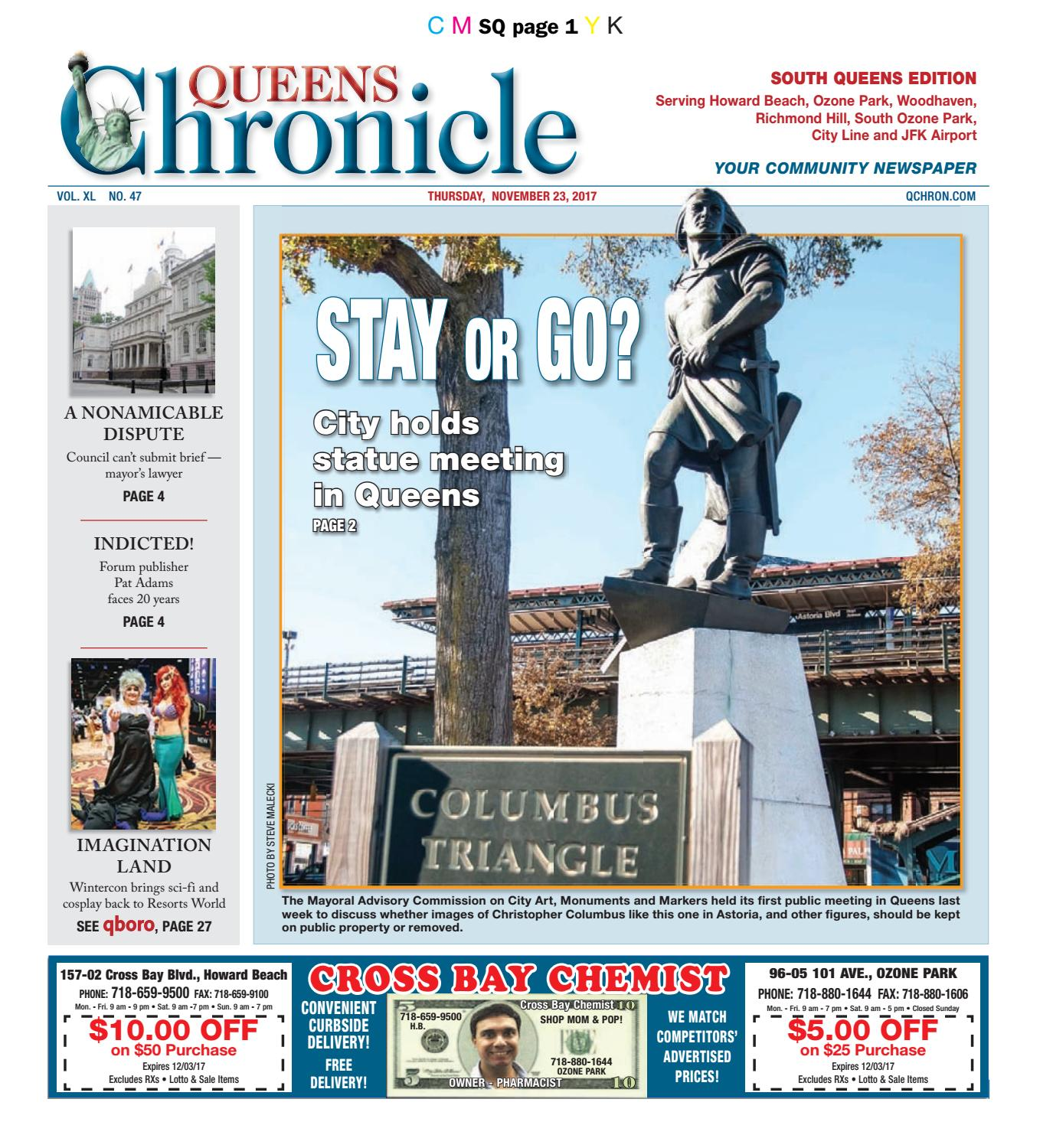 Queens Chronicle South Edition 11 23 17 By Queens Chronicle Issuu