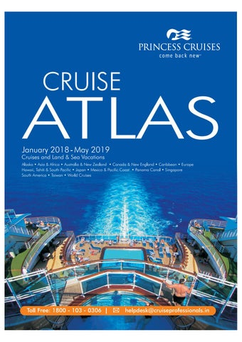 Princess Cruise Atlas 2018 - 2019 by Cruise Professionals - issuu