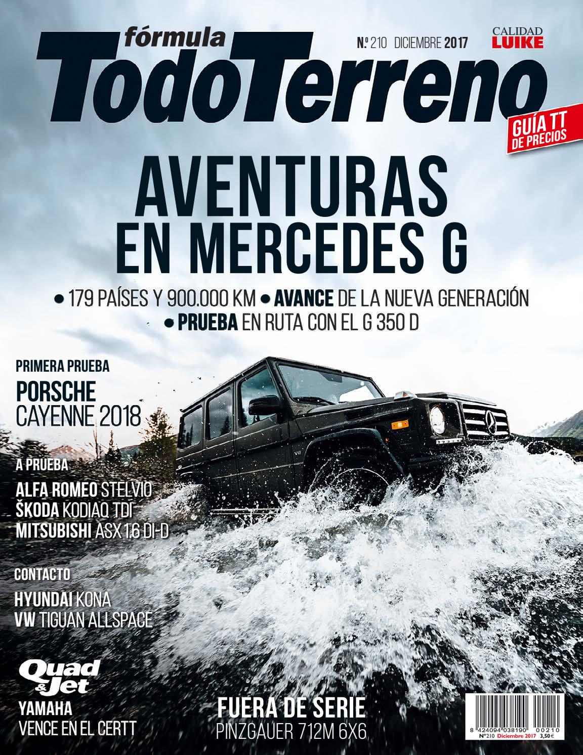 TodoTerreno Nº 210. Diciembre 2017 by LIDER - issuu