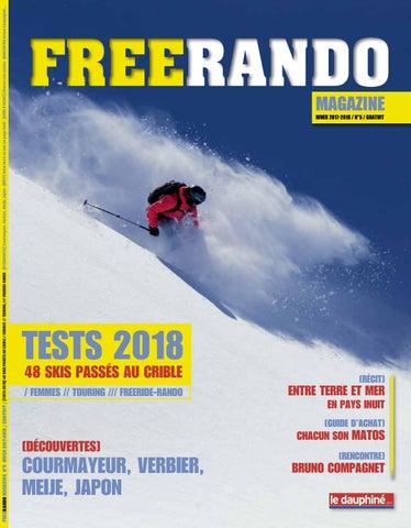 FREERANDO MAGAZINE N°5 HIVER 2017-2018   GRATUIT    TESTS 2018  48 SKIS  PASSÉS AU CRIBLE   FEMMES    TOURING     FREERIDE-RANDO -  DÉCOUVERTES   Courmayeur, ... 495a253081c