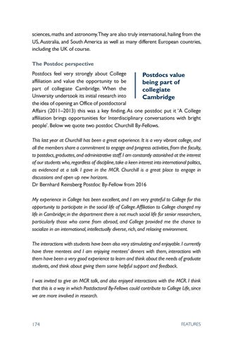Churchill Review 2017 by Churchill College - issuu